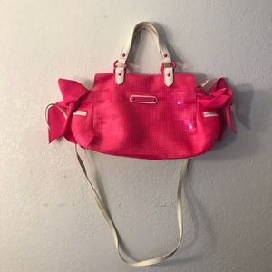 ⭐️MAKE OFFERS! Juicy couture pink sequins bag